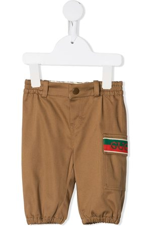 Gucci Web-detail chinos