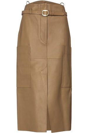 PETAR PETROV Randy B leather pencil skirt