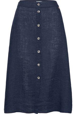 Morris Lady Nathalie Linen Skirt Polvipituinen Hame