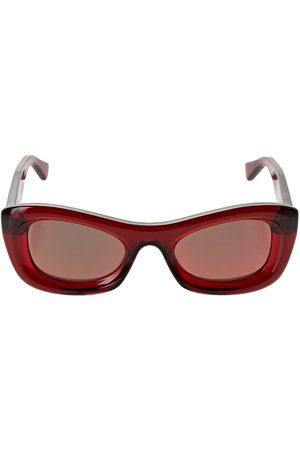 Bottega Veneta Bv1088s Bolded Acetate Sunglasses