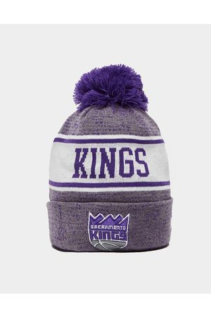 New Era NBA Sacramento Kings Pom Beanie Hat - Only at JD - Mens