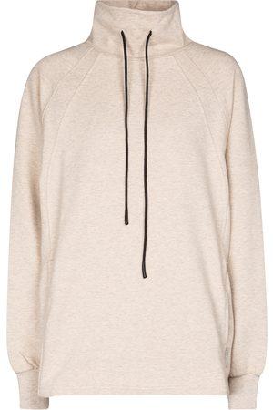 Varley Atlas stretch-cotton jersey sweatshirt