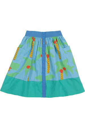Stella McCartney Tytöt Printtihameet - Printed organic cotton skirt