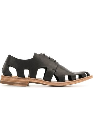 Officine creative Naiset Loaferit - Graphite lace-up shoes