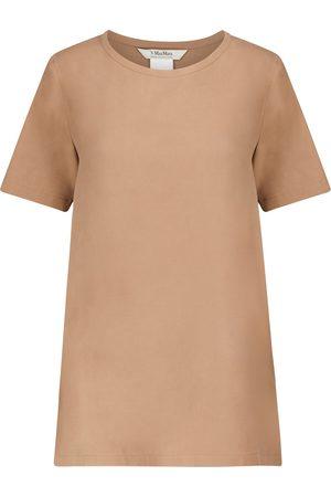 Max Mara Oria silk canvas T-shirt