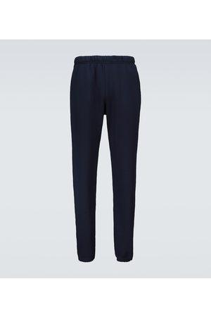 Les Tien Classic cotton trackpants