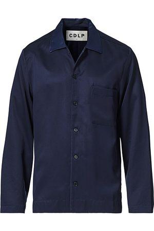 CDLP Home Suit Long Sleeve Top Navy Blue