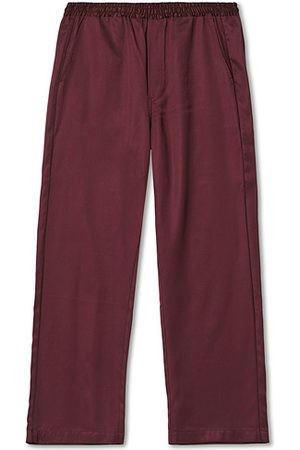 CDLP Miehet Puvut - Home Suit Long Bottom Burgundy
