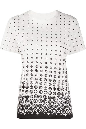 10 CORSO COMO Naiset T-paidat - Dot-print T-shirt