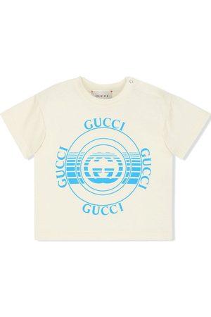 Gucci Gucci disc-print T-shirt