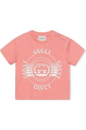 Gucci Gucci disk-print T-shirt