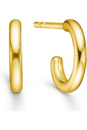 ID Fine Jewelry Dash Hoops - Gold Accessories Jewellery Earrings Hoops Kulta