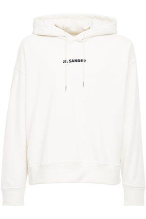 Jil Sander Plus Printed Cotton Sweatshirt Hoodie