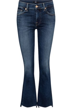 7 for all Mankind Slim Illusion mid-rise bootcut jeans