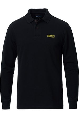 Barbour Essential Long Sleeve Polo Black