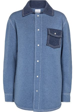 Barrie Cashmere and cotton shirt jacket