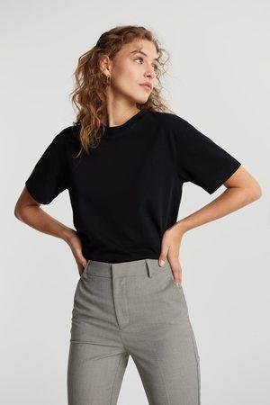 Gina Tricot Naiset T-paidat - Basic tee
