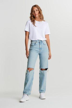 Gina Tricot Naiset Korkeavyötäröiset - 90s high waist jeans