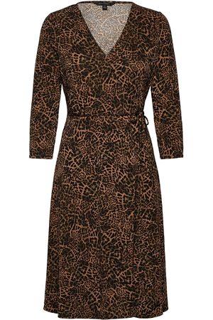 Banana Republic Naiset Midimekot - Wrinkle-Resistant Wrap Dress Polvipituinen Mekko