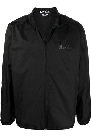 Comme des Garçons Pitkähihaiset - Logo-print long-sleeved jacket