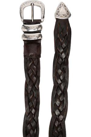 Brunello Cucinelli Miehet Vyöt - Mauta braided belt