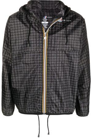 10 CORSO COMO Sadetakit - Graphic-print hooded raincoat