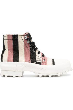 Camper Lab Traktori striped ankle boots