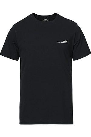 A.P.C. Miehet T-paidat - Item Short Sleeve T-Shirt Black