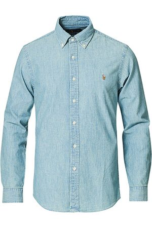 Ralph Lauren Slim Fit Chambray Shirt Washed