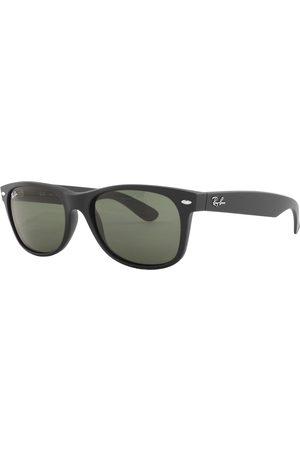 Ray-Ban Miehet Aurinkolasit - Ray Ban 2132 New Wayfarer Sunglasses Matte Black
