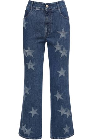 Stella McCartney Eco Cropped Cotton Jeans
