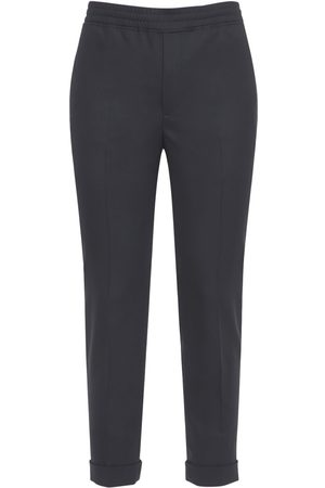 Neil Barrett Slim Wool Blend Pants