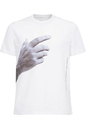 Neil Barrett The Other Hand Print Slim Jersey T-shirt