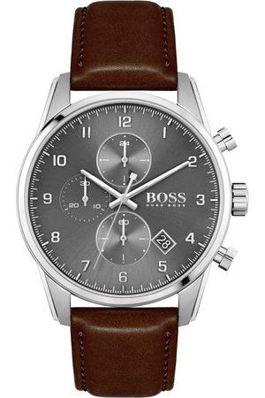 HUGO BOSS Miehet Kellot - BOSS HUGO BOSS 1513787 Skymaster Watch Brown