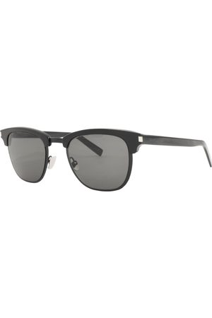 Saint Lauren T 108K Slim 001 Sunglasses Black