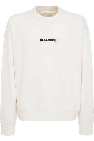 Jil Sander Miehet Collegepaidat - Plus Printed Cotton Sweatshirt