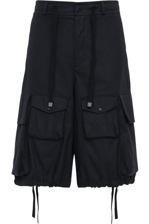 Moncler Genius 1952 Cotton Gabardine Cargo Shorts