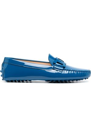 Tod's Chain-link plaque loafers