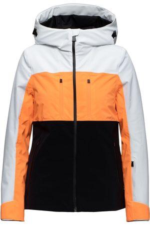Aztech Naiset Untuvatakit - Ajax color-block puffer jacket