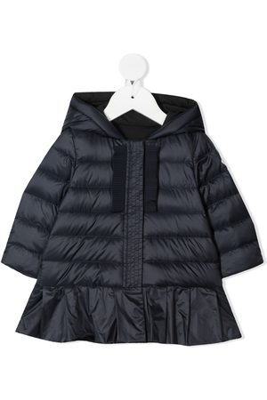 Moncler Päällystakit - Zip-up hooded padded jacket