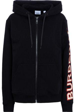 Burberry Naiset Pitkähihaiset - Zipped cotton hoodie