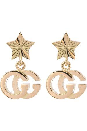 Gucci GG Running 18kt yellow gold earrings