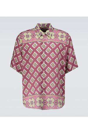 Etro Printed linen shirt