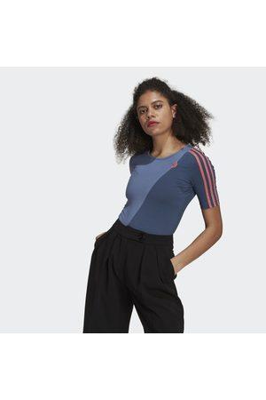adidas Naiset Bodyt - Adicolor Sliced Trefoil Bodysuit
