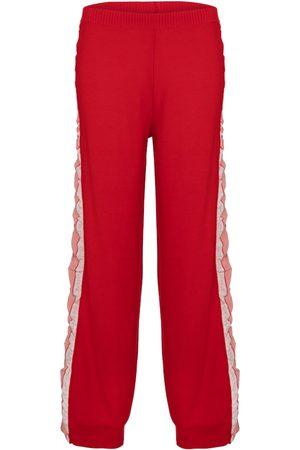 Stella McCartney Wool and silk pants