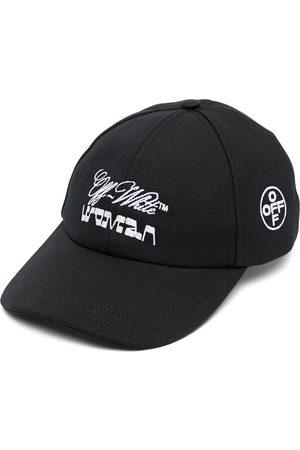 OFF-WHITE CANVAS BASEBALL CAP WHITE
