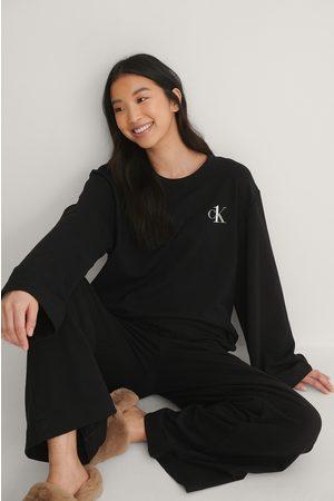 Calvin Klein Naiset Pitkähihaiset - Yläosa - Black