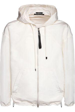Tom Ford Silk Heavy Faille W.r. Hooded Jacket