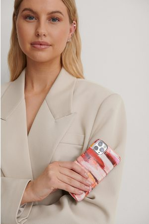 NA-KD Naiset Puhelinkuoret - Printed Phone Case - Pink
