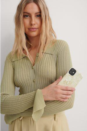 NA-KD Naiset Puhelinkuoret - Printed Phone Case - Offwhite
